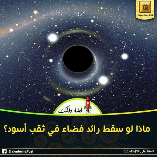 لو سقط رائد فضاء في ثقب أسود فإن كتلة الثقب الأسود ستزيد علي أنه في النهاية ستعاد إلي الكون الطاقة المساوية لهذه الكتلة الإضافية في شك Poster Movie Posters Art