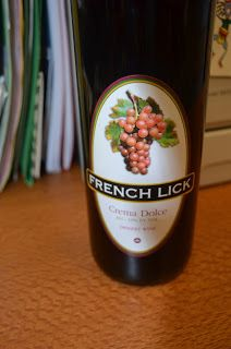 Wine Wednesday: French Lick Crema Dolce | Discover the Surprise Indiana Wines