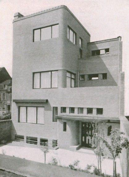 Henry van de velde maison wolfers 1929 60 avenue for Decoration maison 1930 lille