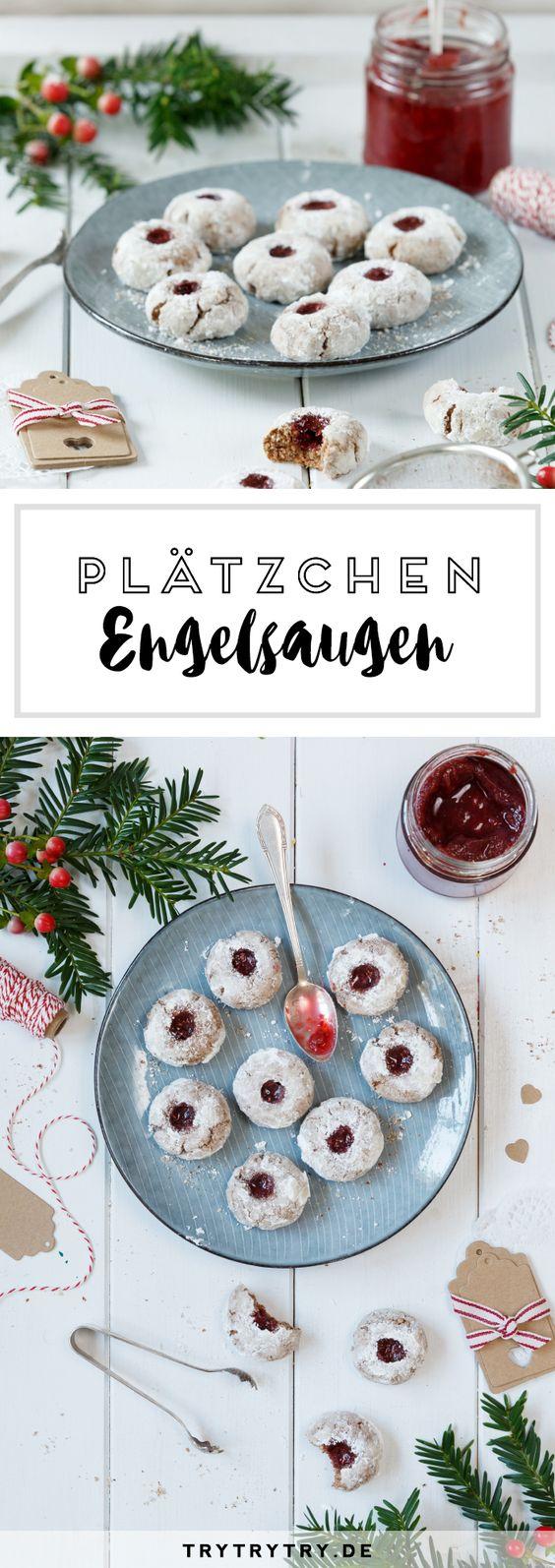 Engelsaugen: Plätzchenrezept in der Weihnachtsbäckerei