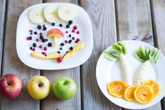 Trucos para que los niños coman fruta : via La Chimenea de las Hadas