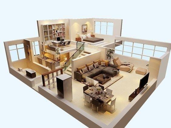 Pic 016 Denah Rumah Desain Rumah Arsitektur Rumah