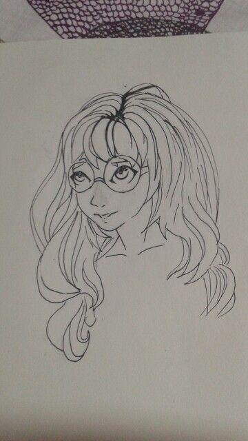 I drew a girl I totally failed on credit: @zirohero