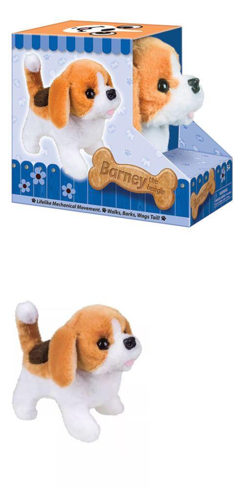 Details About Battery Operated Beagle Dog Plush Stuffed Animal
