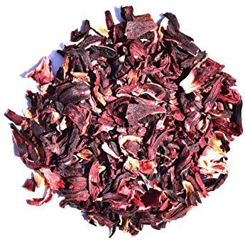 Hibiscus Herbal Decaffeinated Flower Tea Loose Leaf Tea