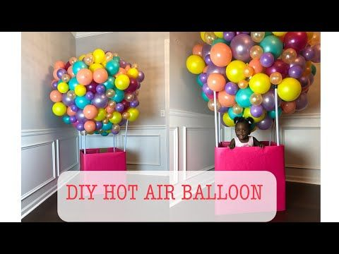 Diy Photo Booth Ideas For Your Next Shindig Diy Projects Diy Hot Air Balloons Balloon Diy Hot Air Balloon Decorations