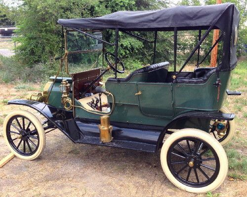 Stunning 1911 Ford Model T 4 Dr Touring Ex Museum Car Engine