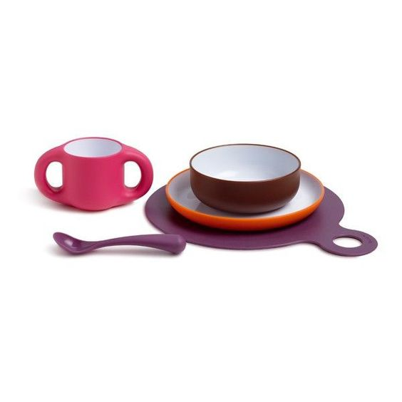 Suavinex - Toddler Feeding set for Girls - Bmini - Design for Kids