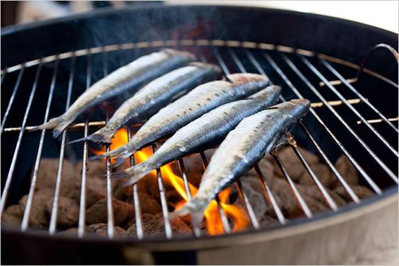 Grilled Sardines. Photo: Andrew Scrivani for The New York Times