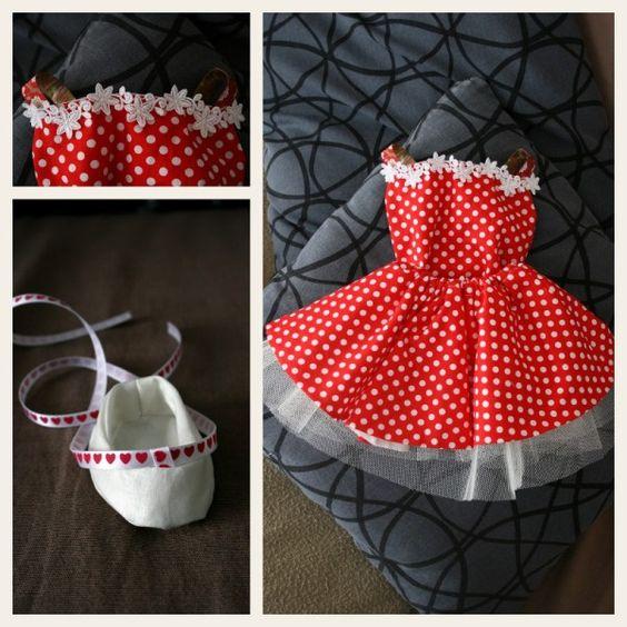 Robe de poupée ballerine
