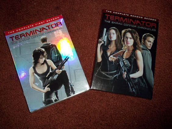 Terminator The Sarah Connor Chronicles Complete First and Second Season DVD Sets