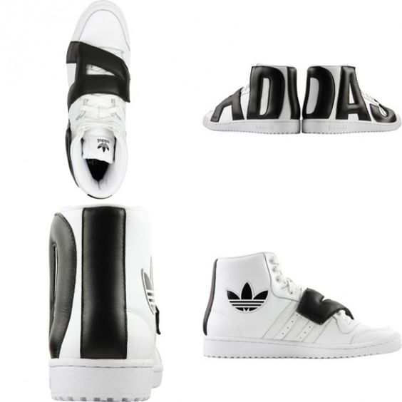 adidas Originals by Jeremy Scott - JS P Letters Leather. WHY JEREMY? WHY??