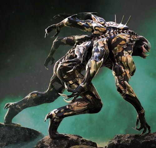 Outrider 'Infinity War' Concept Art - JS Marantz in 2019