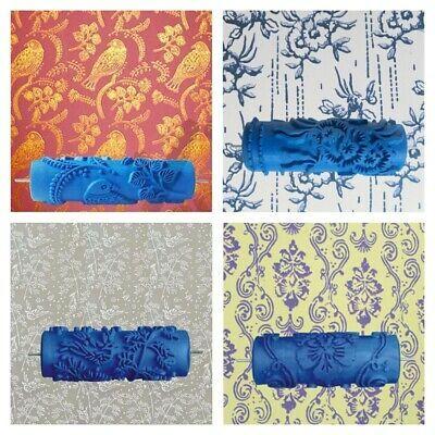 Details About Rubber Decorative Paint Roller 3d Flower Design