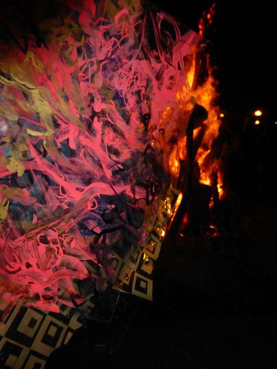 Language of Fire - Angel Orensanz - Art Palm Beach 2014.
