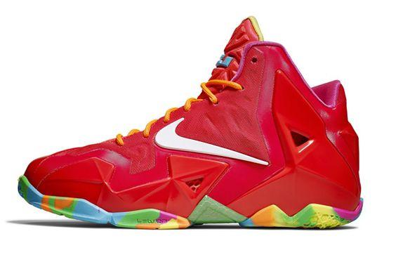 Nike LeBron 11 GS 'Fruity Pebbles' (Release Info)   KicksOnFire.com