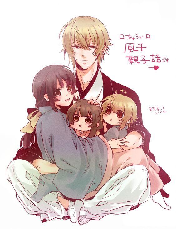 Hakuouki Shinsengumi Kitan, Chikage Kazama, Yukimura Chizuru, Father And Daughter