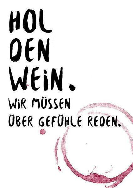 A4 print spruch wein und gef hle design wein und zitate - Design zitate ...