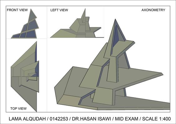 Lama Al Qudahالرسم المعماري بالحاسوب/ computer architectural drawing: