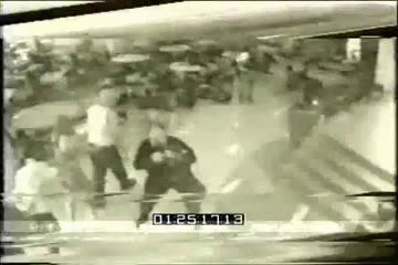 Columbine High School Library Footage