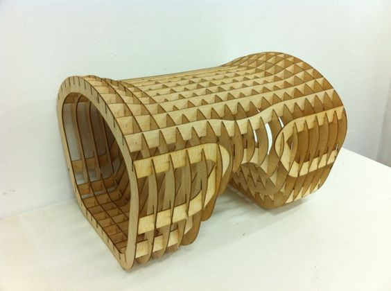 Amazing Contemporary Bench In Wooden Ribs Structure   Ribs Bench   Design By Them |  Something Wooden This Way Comes | Pinterest | Bench Designs, Benches And  Ribs Nice Look