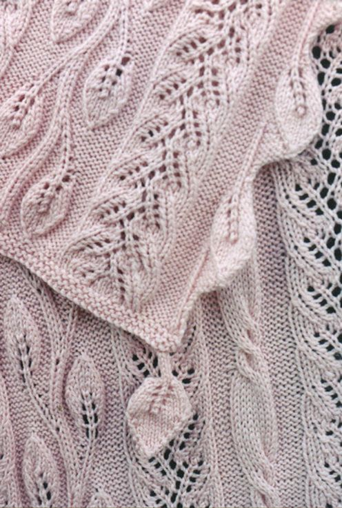Lace Knitting Patterns In The Round : Sivia Harding--Twining Vine Afghan Knitting Pinterest Cable, Vines and ...