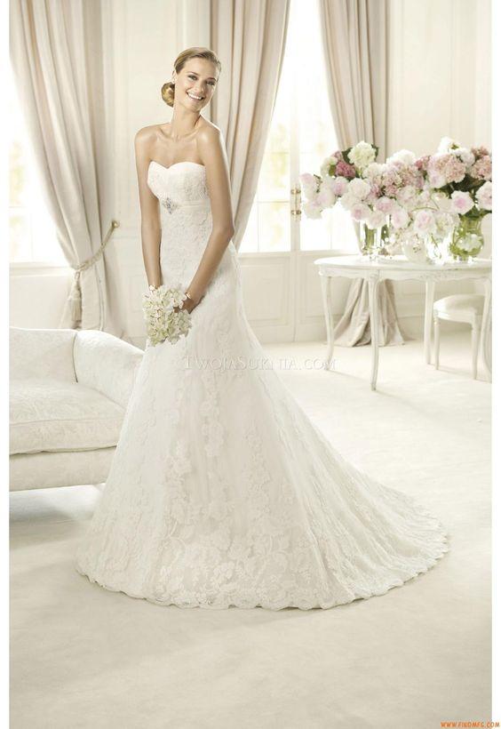 Vestidos de noiva Pronovias Berta 2013
