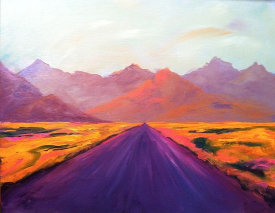 Hwy 50 by Joan Frimberger