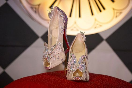 When You Wish Upon A Star...Louboutin Gives You Cinderella Slippers