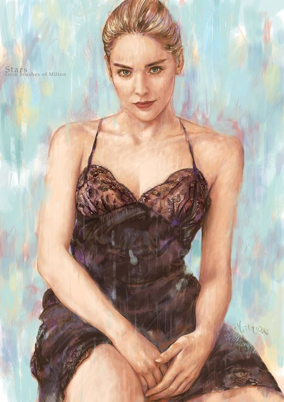 Sharon Stone artist