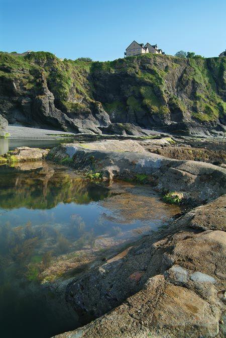Tunnel Beaches In North Devon Minus The Landslide We Saw