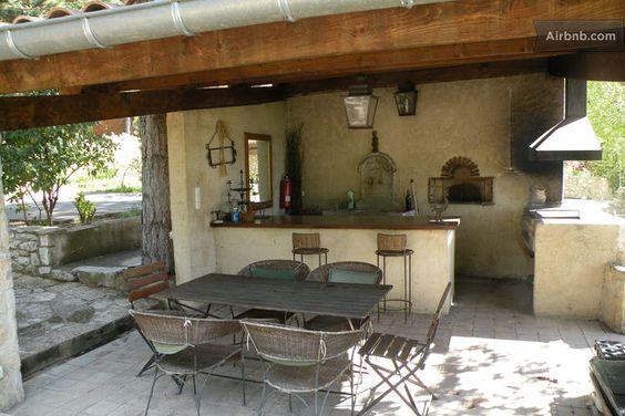 Cuisine exterieure, four pizza, barbecue  jardin  Pinterest ...