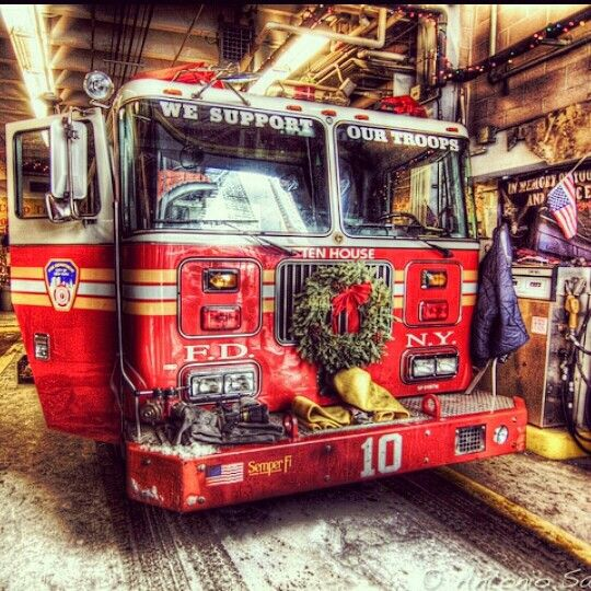Merry Christmas from the boys at 10 House - FDNY https://loveahero ...
