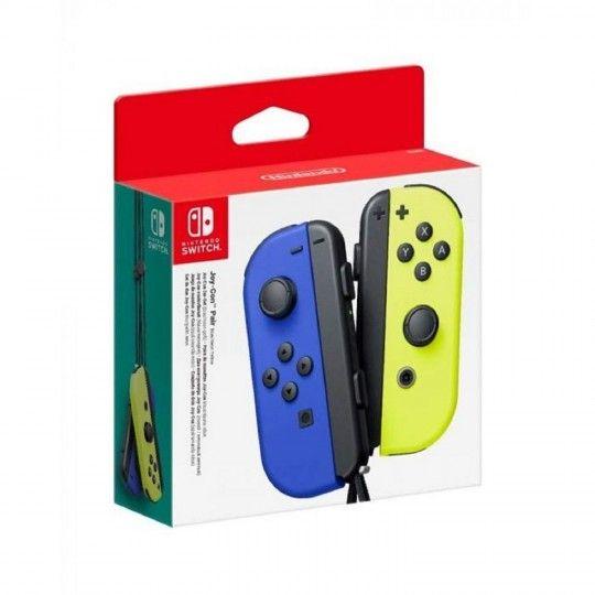Manette Joy Con Bleu Jaune Switch Nintendo La Paire De Manette A Prix Carrefour En 2020 Manette Nintendo Console De Jeux Video