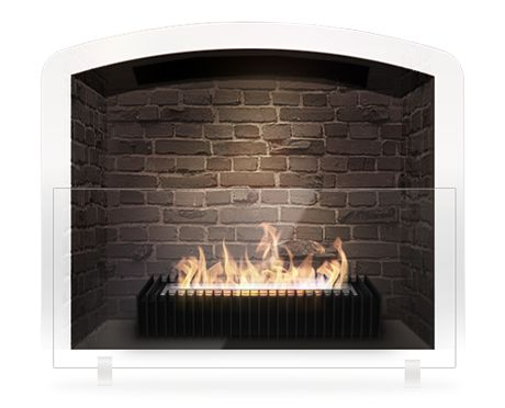 Eco Fireplace Grate No Chimney Needed Perfect For A Faux