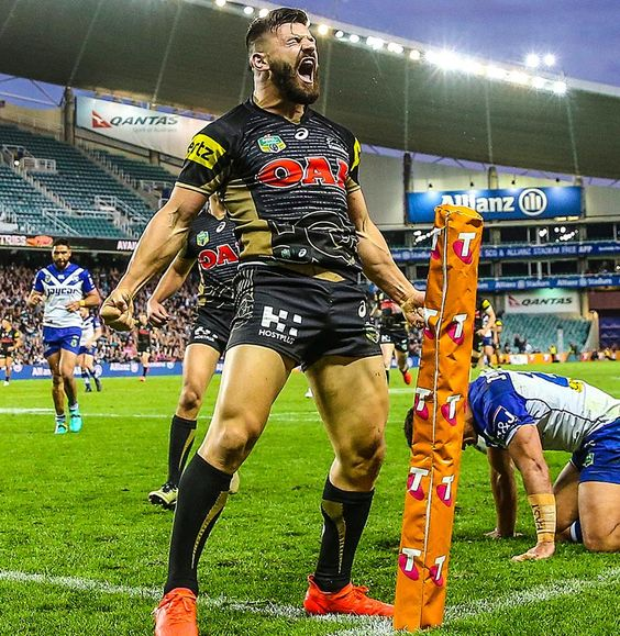 Footy Players: Josh Mansour of the Penrith Panthers