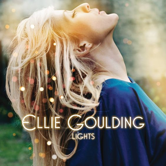 Ellie Goulding – Lights (single cover art)