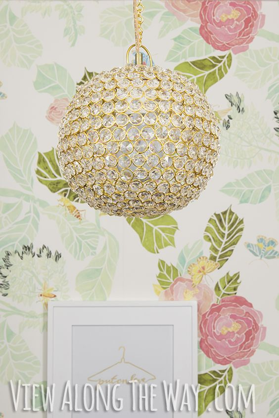 Make this crystal chandelier for only $60!!