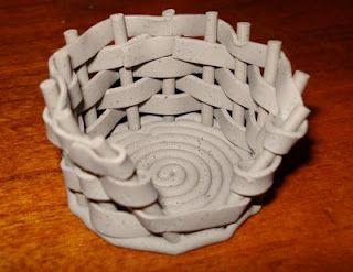 Polymer Clay Baskets
