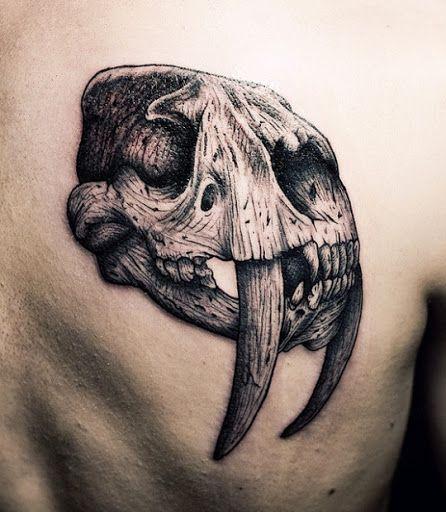 Tatuagem Realista | Crânio nas Costas