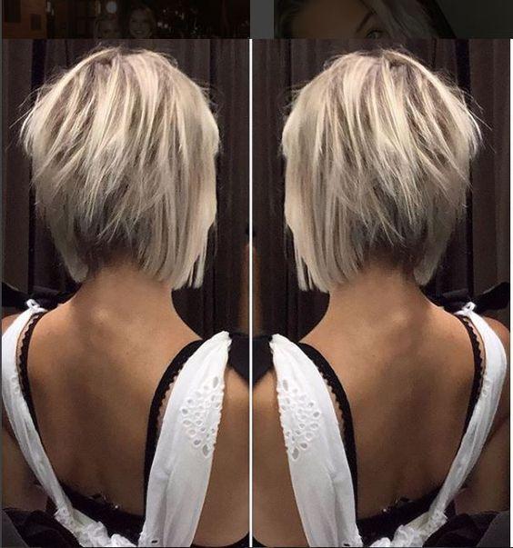 Still the most popular short hairstyle - Short Hairstyles #hairstyle #hairstyles #popular #short #still