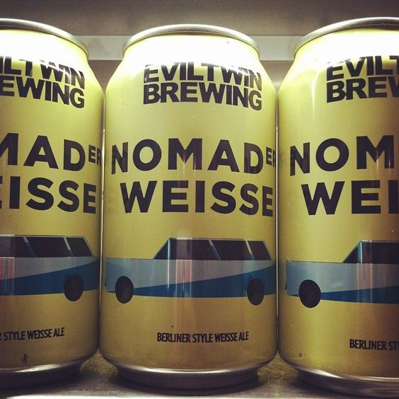 "@izakaya_nomad's photo: ""Found Our Beer! Nomad Weisse #eviltwin #craftbeer #yesplease #nomad #lovebeer"""
