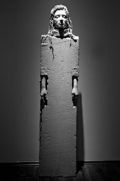 Schaár Erzsébet; Hungarian sculptor (1908-1975) -concerned with the problems of space; she was searching for the relations between the urban human and the space of living.