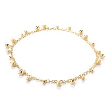 Portofino 18K Gold Embraced™ Beaded Rolo Link Necklace