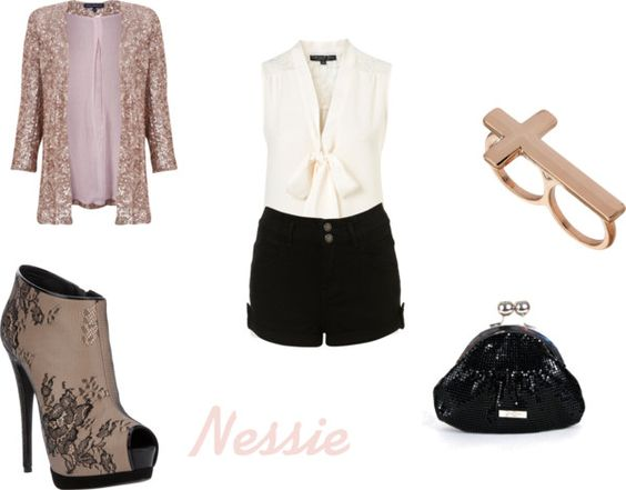 """""""Nessie"""" by gabriellyswan ❤ liked on Polyvore"""