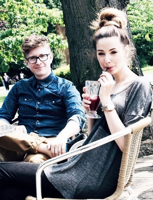 Zoella And Tyler Oakley Oakley, Eyes and The o...