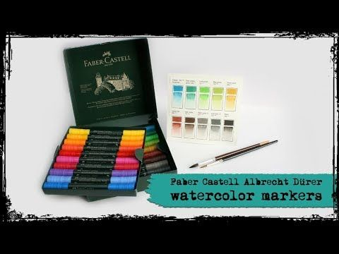 Faber Castell Albrecht Durer Watercolour Markers Review