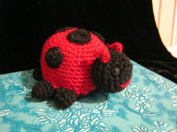 Crochet - Ladybug :) https://www.etsy.com/listing/225211324/sweet-little-ladybug?ref=shop_home_active_2