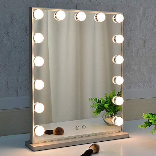Great For Beautme Makeup Mirror With Lights Hollywood Vanity Mirror With 15pcs Adjustab Hollywood Makeup Mirror Lighted Vanity Mirror Makeup Mirror With Lights