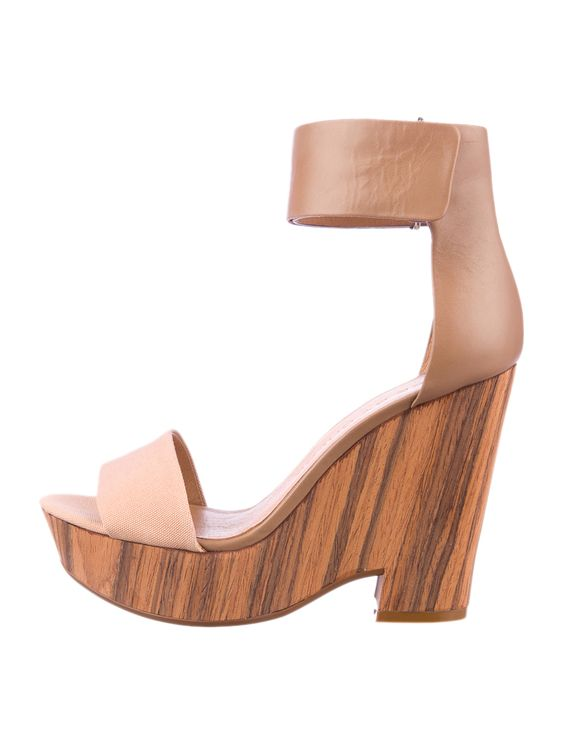 See By Chlo 233 Wedge Sandals Shoeporn Pinterest